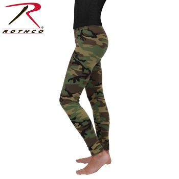 Rothco Womens Camo Leggings-