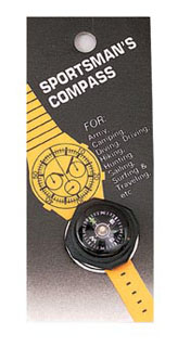 Rothco Sportsmans Watchband Wrist Compass-