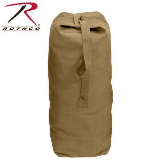 Rothco Heavyweight Top Load Canvas Duffle Bag-