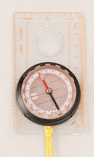 Rothco Map Compass-Rothco