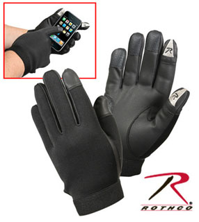 Rothco Touch Screen Neoprene Duty Gloves-Rothco