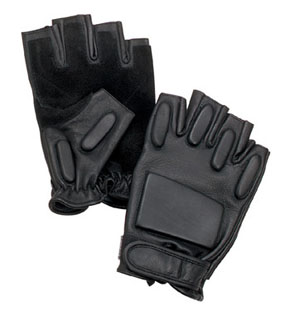 Rothco Tactical Fingerless Rappelling Gloves-