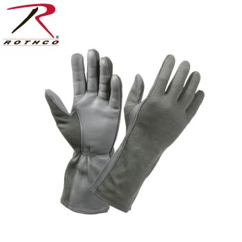 Rothco G.I. Type Flame & Heat Resistant Flight Gloves-Rothco