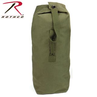 Rothco Heavyweight Top Load Canvas Duffle Bag-Rothco