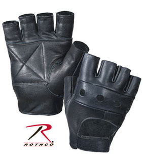 Rothco Fingerless Biker Gloves-