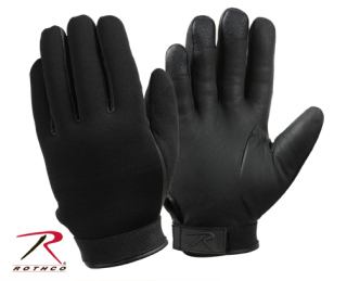 3558_Rothco Cold Weather Neoprene Duty Gloves - Black-