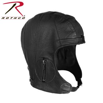 Rothco WWII Style Leather Pilots Helmet-Rothco