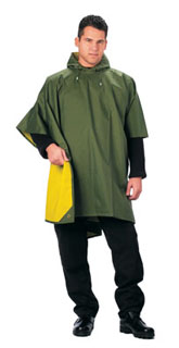 Rothco Reversible Rubberized Poncho-
