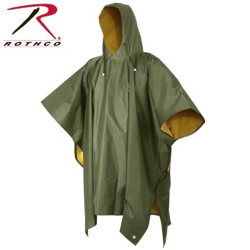 Rothco Reversible PVC Ponchos-Rothco
