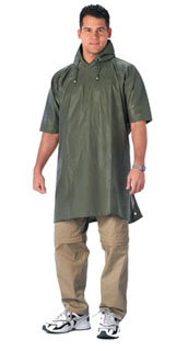 Rothco Rubberized Rainwear Poncho-