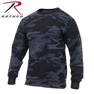 Rothco Long Sleeve Colored Camo T-Shirt-
