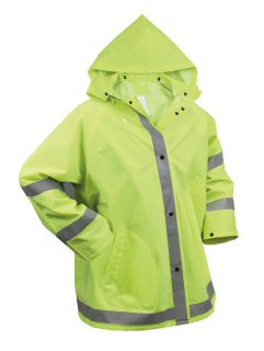 Rothco Safety Reflective Rain Jacket-