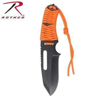 Rothco Large Paracord Knife With Fire Starter-