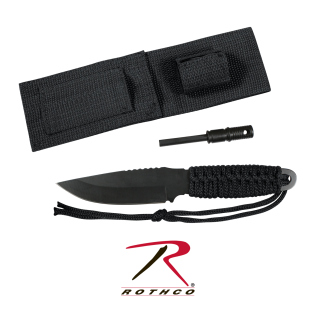 Rothco Paracord Knife With Fire Starter-