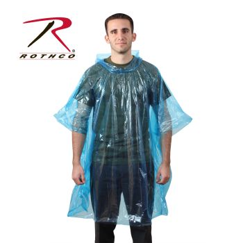 Rothco All Weather Emergency Poncho-Rothco