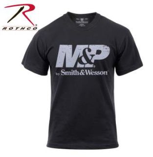 Smith & Wesson Distressed M&P Logo T-Shirt-