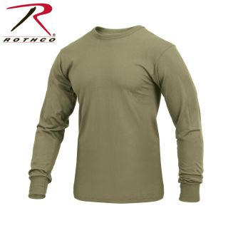 Rothco Long Sleeve Solid T-Shirt-