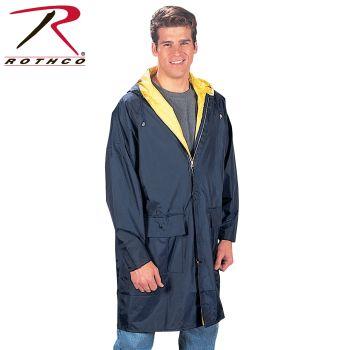 3750 Reversible Navy/Yellow 3/4 Length Parka