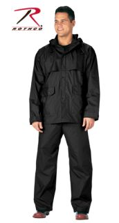 Rothco 2 Piece Microlite PVC Rainsuit-