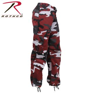 Rothco Womens Paratrooper Colored Camo Fatigues-