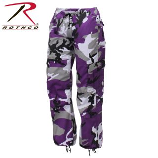 Rothco Womens Paratrooper Colored Camo Fatigues-Rothco