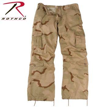 3786_Rothco Women's Camo Vintage Paratrooper Fatigue Pants-Rothco