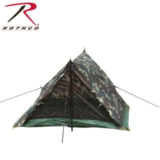 Rothco Camo Two Man Trail Tent-Rothco