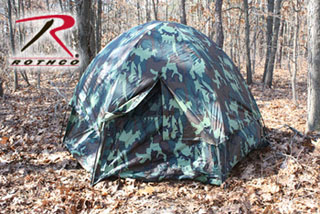 Rothco Camo 3-Man Hexagon Dome Tent-