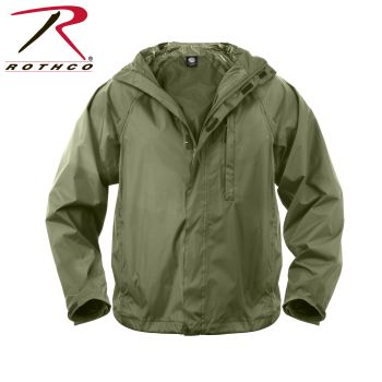 Rothco Packable Rain Jacket-334514-Rothco