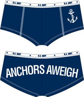 Rothco Anchors Aweigh Booty Shorts-