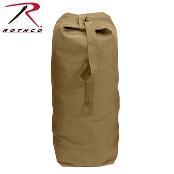 Rothco Heavyweight Top Load Canvas Duffle Bag-Rothco