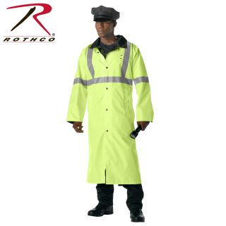 Rothco Reversible Reflective Rain Parka-Rothco