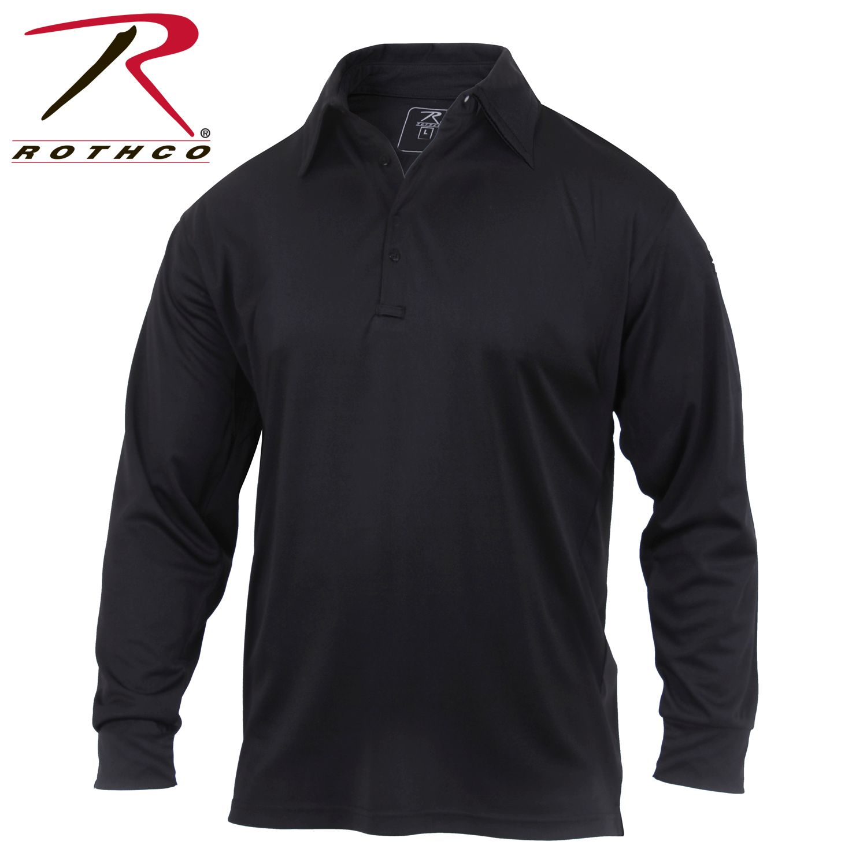 3932_Rothco Long Sleeve Tactical Performance Polo-