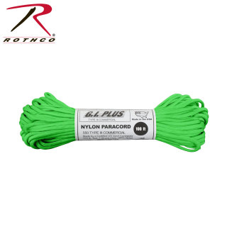 Rothco Nylon Paracord Type III 550 LB 100FT-Rothco