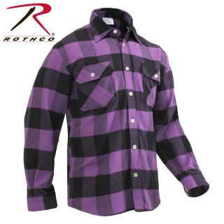Rothco Extra Heavyweight Buffalo Plaid Flannel Shirt-
