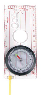 Rothco Deluxe Map Compass-