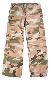 Rothco Womens Camo Vintage Paratrooper Fatigue Pants-