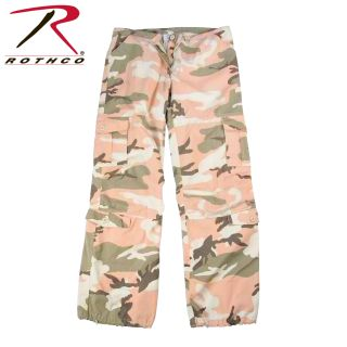 Rothco Womens Camo Vintage Paratrooper Fatigue Pants-Rothco