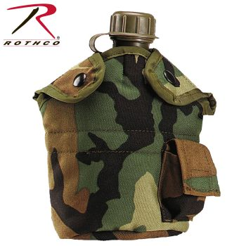 Rothco G.I. Type Enhanced Nylon 1qt. Canteen Cover-Rothco