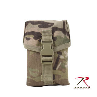 Rothco MOLLE II100 Round Saw Pouch-