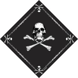 Rothco Jolly Roger Bandana-Rothco