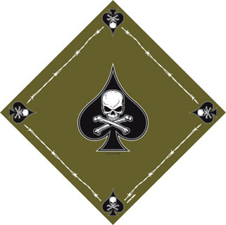 ''death Spade'' Bandana-Rothco