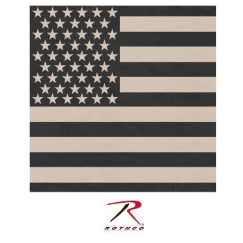 Rothco Subdued US Flag Bandana-