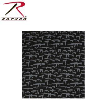 Rothco Gun Pattern Bandana-