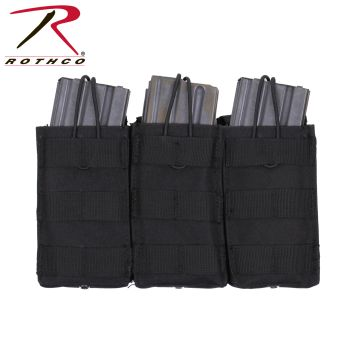Rothco MOLLE Open Top Triple Mag Pouch-