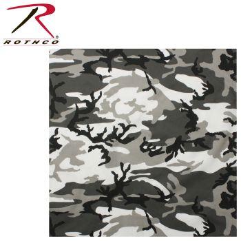 Rothco Colored Camo Bandana-