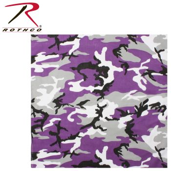 Rothco Colored Camo Bandana-