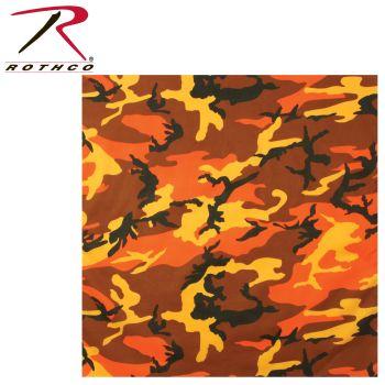 Rothco Colored Camo Bandana-Rothco