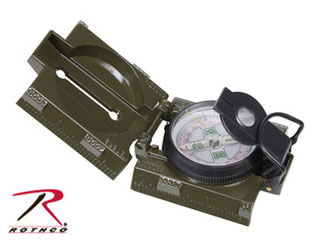 Rothco Military Marching Compass with LED Light-