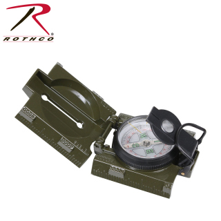 416_Rothco Military Marching Compass with LED Light-